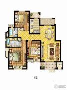 中锐星尚城3室3厅3卫0平方米户型图