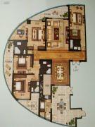 御园4室2厅3卫266平方米户型图