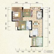 新鹏盛世临港1室2厅1卫65--82平方米户型图