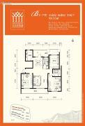 金泰舒格�m3室2厅2卫133平方米户型图