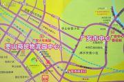 广安国际财富中心交通图
