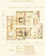银基誉府4室2厅2卫178平方米户型图
