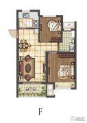 康桥朗城2室2厅1卫68--70平方米户型图
