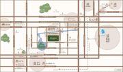 新华御湖上园交通图