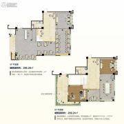 长广溪旭天科技谷6室3厅2卫495平方米户型图