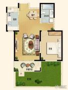 世嘉光织谷1室1厅1卫73平方米户型图