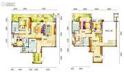 新鸿基悦城4室3厅4卫272平方米户型图