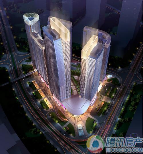 东平广场鸟瞰图