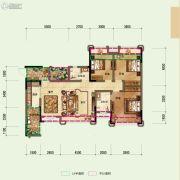 鼎晟泓府・天誉3室2厅2卫115平方米户型图