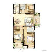骏景华庭3室2厅2卫119平方米户型图
