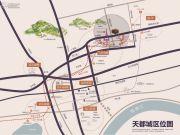 天都城・滨沁公寓交通图