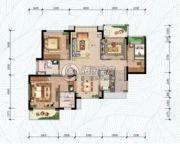万科・红树东岸4室2厅2卫120平方米户型图