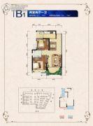 邦泰・国际社区(北区)2室1厅1卫70--79平方米户型图