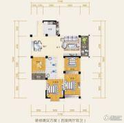 水岸欧韵4室2厅2卫119平方米户型图