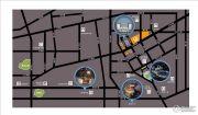 济南高新万达广场交通图