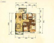 昆明・恒大名都3室2厅2卫120平方米户型图