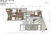 锦峰�Z玺4室2厅2卫158平方米户型图