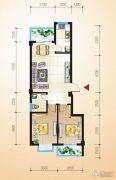 中恒兴・翰林福第2室2厅1卫78平方米户型图
