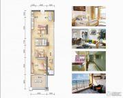 和居壹海江山2室2厅1卫0平方米户型图