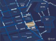 横琴金贸坐标交通图