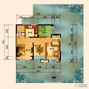 君汇上品4室2厅2卫148平方米户型图