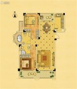 中南锦苑2室2厅2卫111平方米户型图