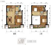 保利・叁仟栋4室2厅2卫0平方米户型图