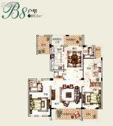 塞拉维3室2厅2卫137平方米户型图
