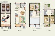 金辉・优步花园0平方米户型图