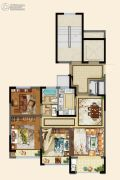 碧桂园德信・江山一品3室2厅1卫87平方米户型图
