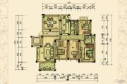恒隆花园4室2厅2卫184平方米户型图