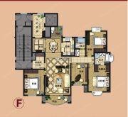 爱法山水国际4室2厅2卫175平方米户型图