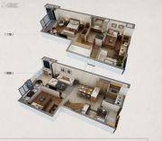 万科春风十里3室2厅2卫102平方米户型图