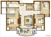 融侨华府3室2厅2卫113平方米户型图