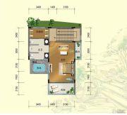 台山颐和温泉城6室3厅4卫289平方米户型图