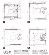 上海金融谷0平方米户型图