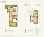 九洲绿城・翠湖香山3室2厅1卫116平方米户型图