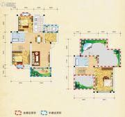 弘乐府・公园1号4室2厅2卫132平方米户型图