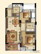 宁兴・上院2室2厅0卫70平方米户型图