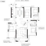 美盛白河湾4室2厅2卫0平方米户型图