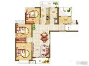 盛润锦绣城3室2厅1卫116平方米户型图
