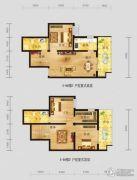 恩施国际商贸城3室2厅2卫128平方米户型图