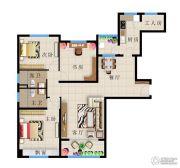 远洋・新天地4室2厅2卫138平方米户型图