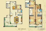 佳源・公园一号5室2厅3卫262平方米户型图