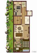 紫岸2室1厅1卫0平方米户型图