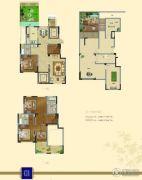 瀛洲・梧桐里4室2厅3卫181平方米户型图