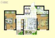 亿达帝景2室2厅1卫0平方米户型图