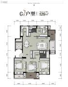 富力・十号院4室2厅2卫0平方米户型图