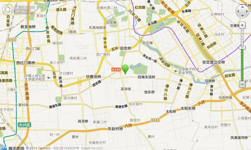 中国铁建兴盛馨苑交通图