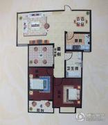 阳光国际城2室2厅1卫100平方米户型图